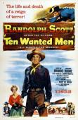 Vezi <br />						Ten Wanted Men  (1955)						 online subtitrat hd gratis.