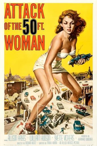 Vezi <br />Attack of the 50 Foot Woman  (1958) online subtitrat hd gratis.