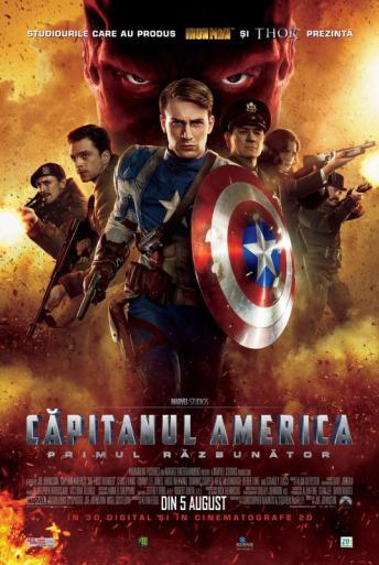Subtitrare Captain America: The First Avenger