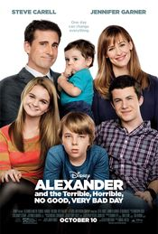 Trailer Alexander and the Terrible, Horrible, No Good, Very Bad Day