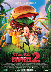 Subtitrare Cloudy with a Chance of Meatballs 2