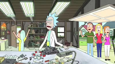 Trailer Rick and Morty