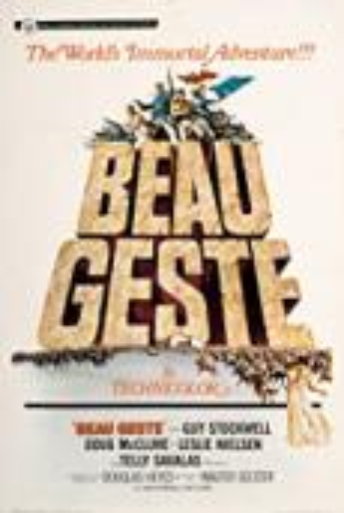 Subtitrare Beau Geste