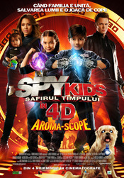 Subtitrare Spy Kids 4D: All the Time in the World